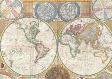Mapa del mundo (América)