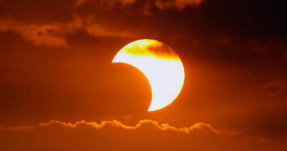 eclipse parcial de Sol 2019