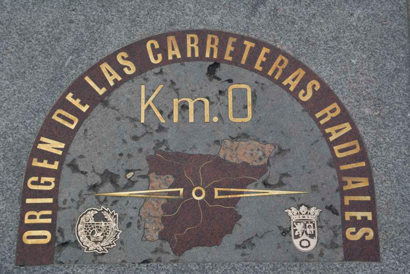 Kilómetro cero de Madrid