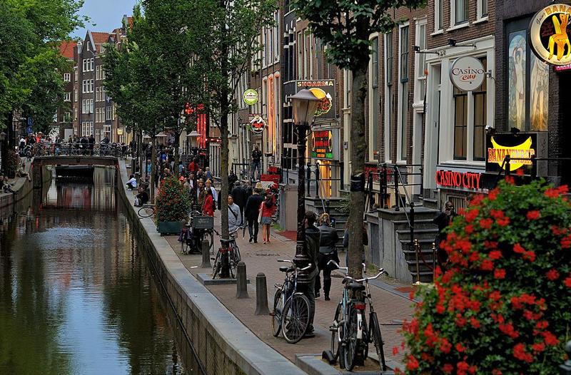 Barrio Rojo Holanda Ámsterdam
