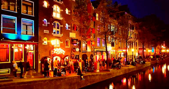 Barrio Rojo Ámsterdam Holanda